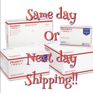 Other - Same day or next day shipping always!